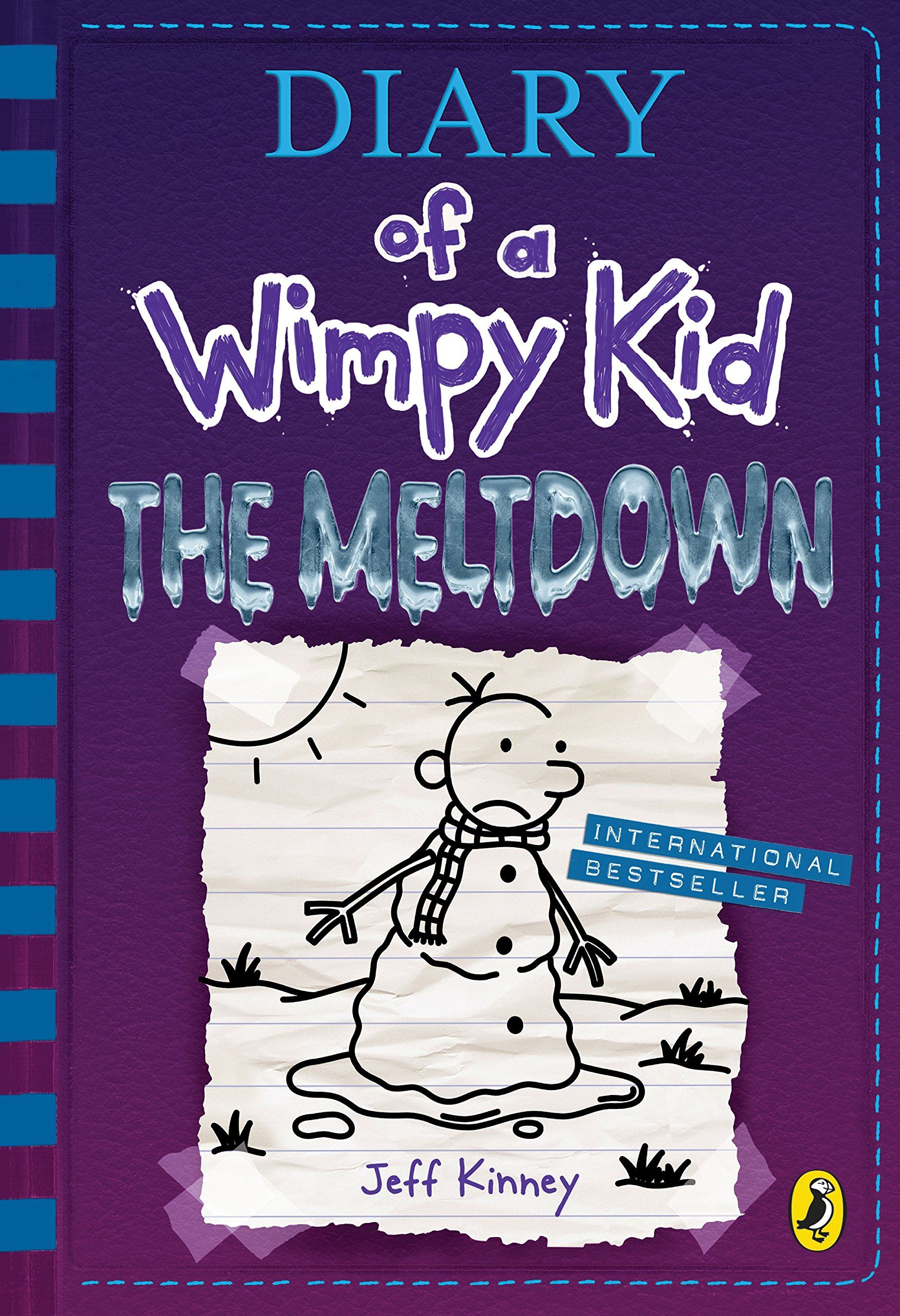 DIARY OF A WIMPY KID BOOK 13 THE MELTDOWN