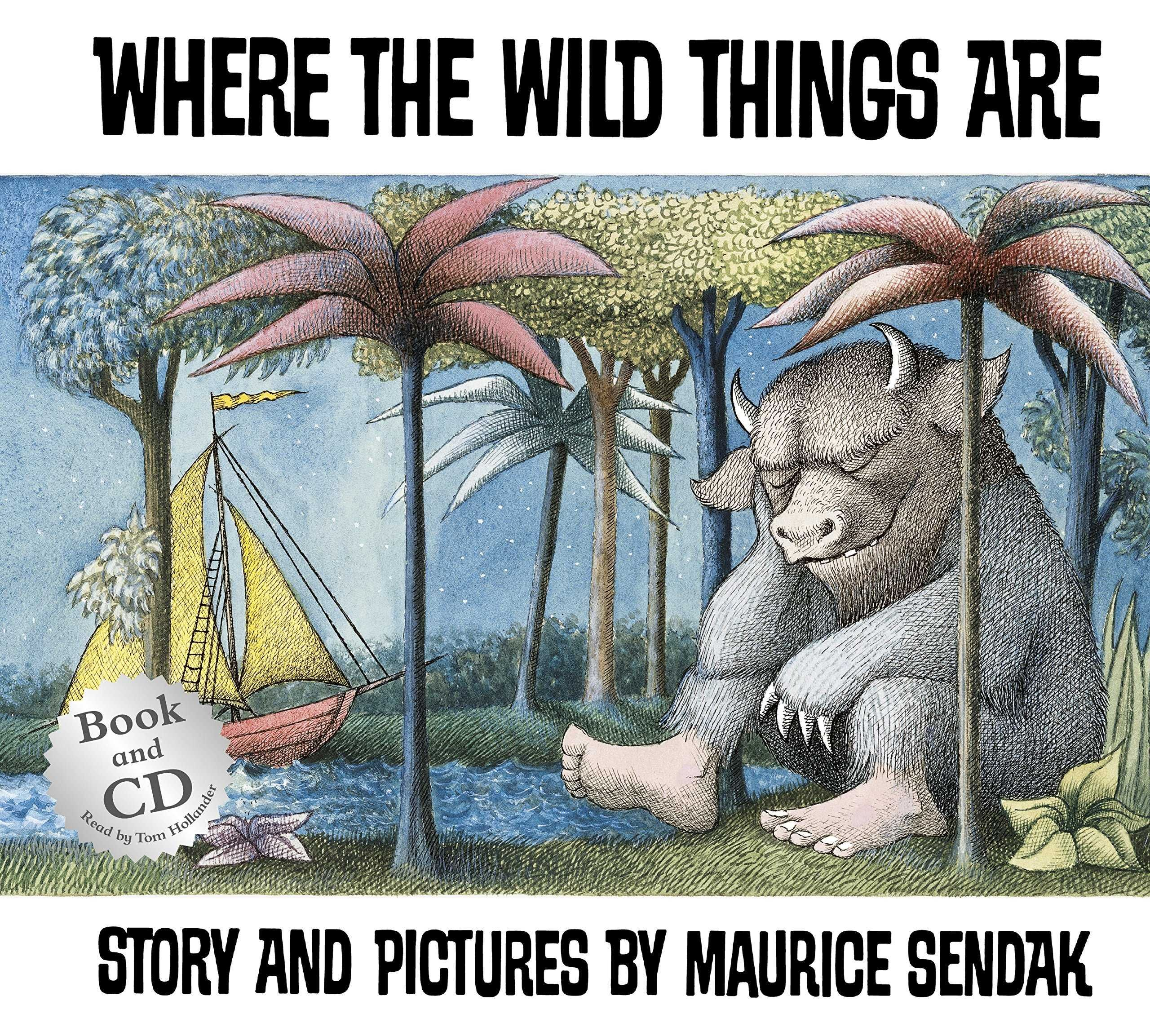 WHERE THE WILD THINGS ARE BOOK + CD