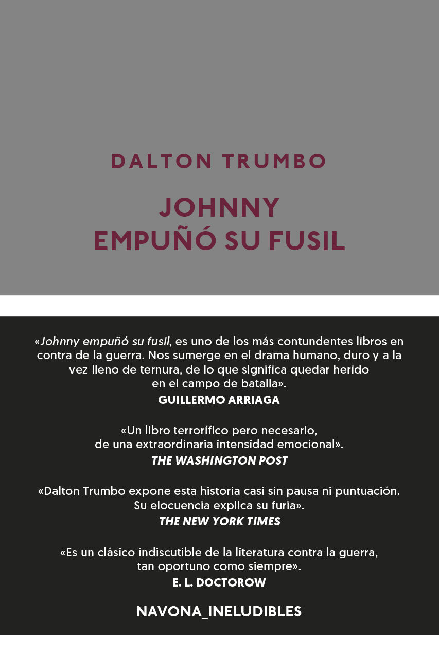 JOHNNY EMPUÑÓ SU FUSIL