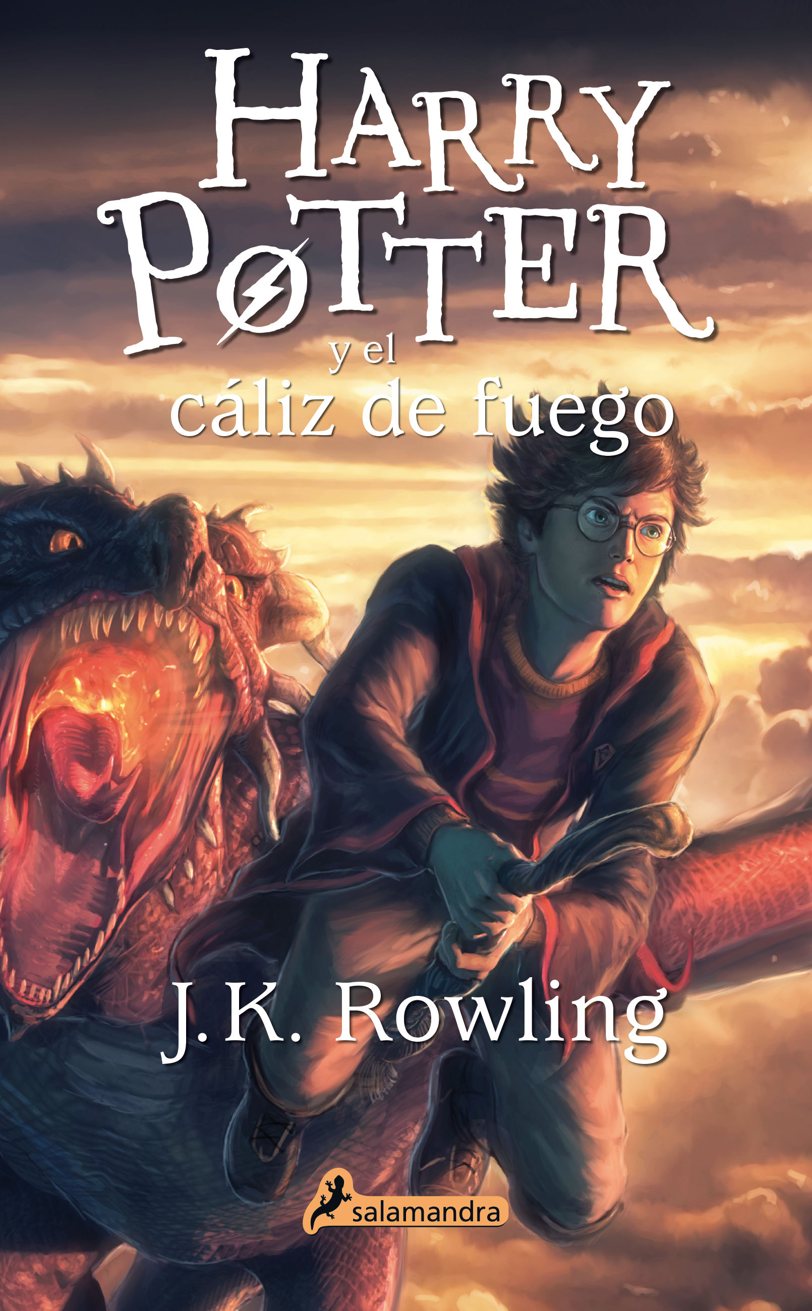 HARRY POTTER Y EL CÁLIZ DE FUEGO (HARRY POTTER 4)