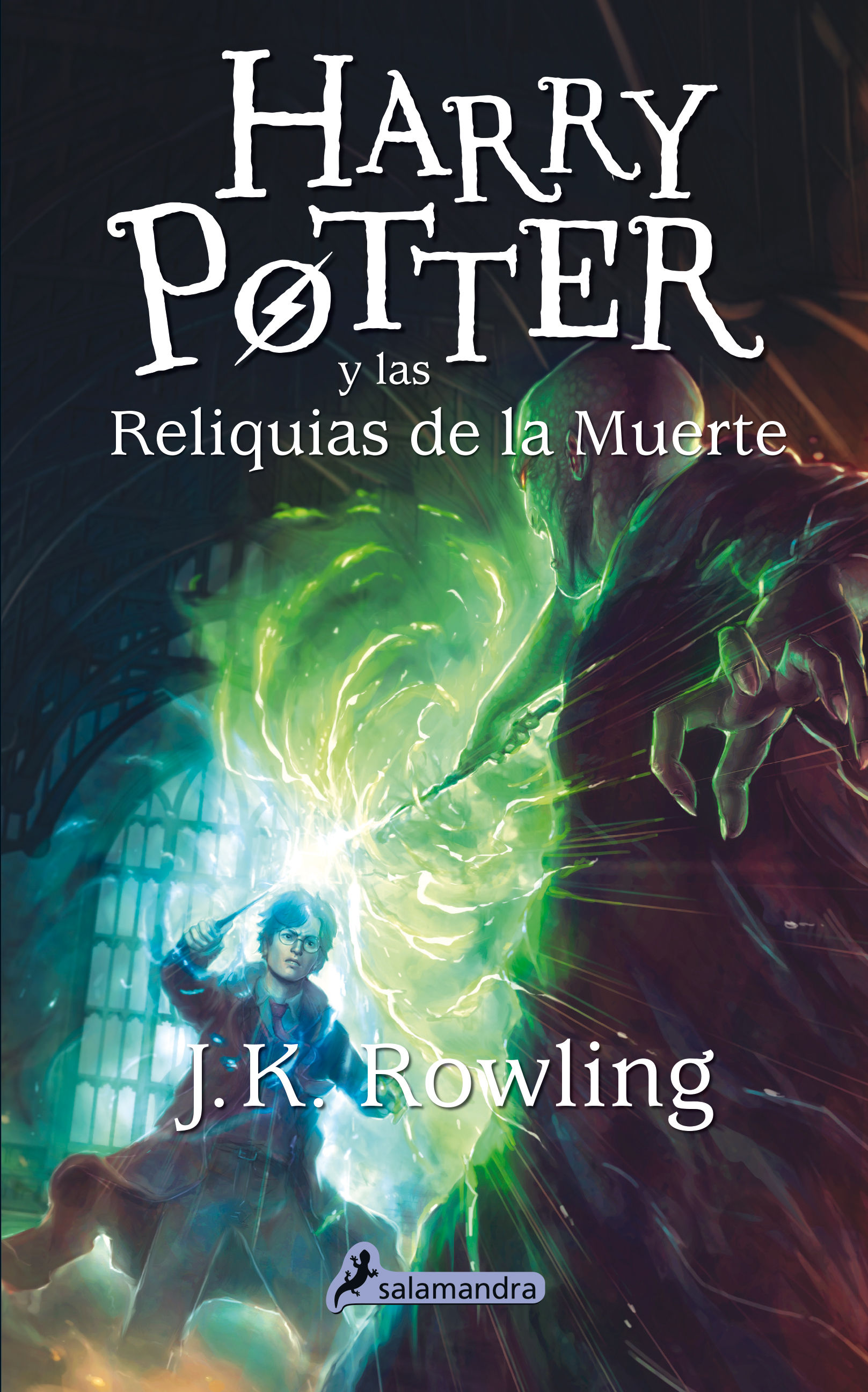 HARRY POTTER Y LAS RELIQUIAS DE LA MUERTE (HARRY POTTER 7)