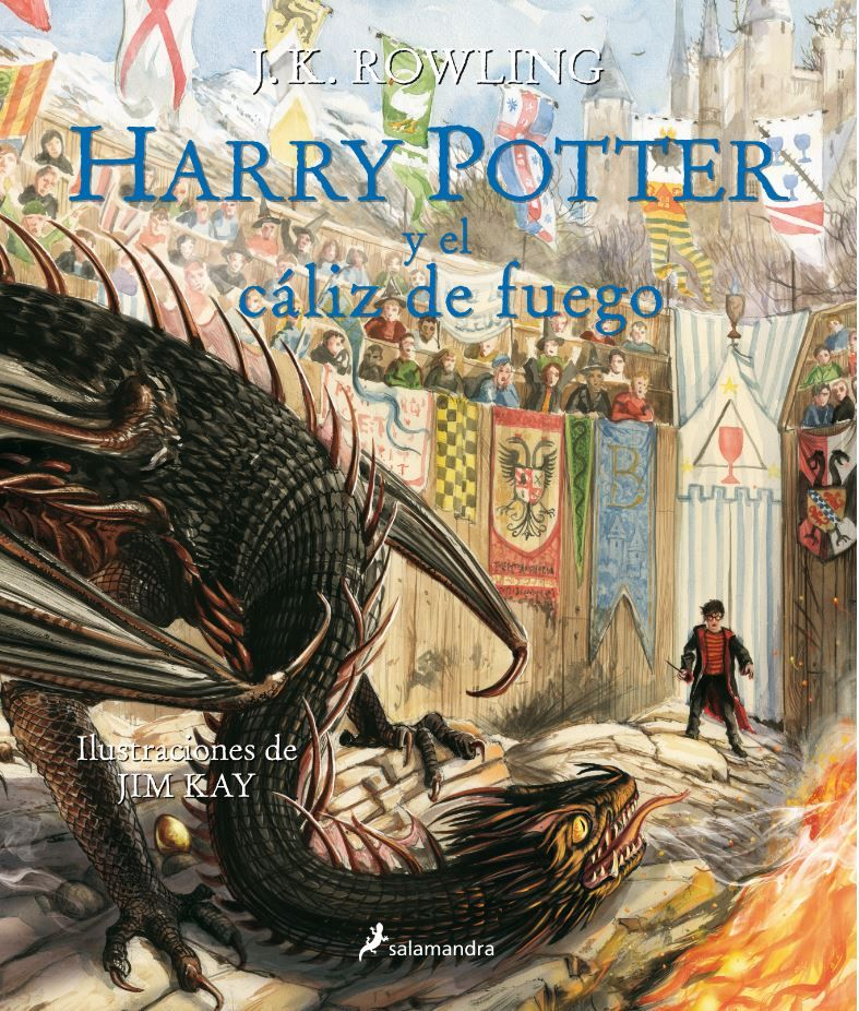 HARRY POTTER Y EL CÁLIZ DE FUEGO (HARRY POTTER [EDICIÓN ILUSTRADA] 4)