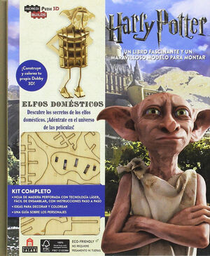 INCREDIBUILDS HARRY POTTER ELFOS DOMESTICOS